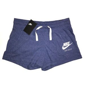 NWT Women's Nike Gym Vintage Drawstring Shorts
